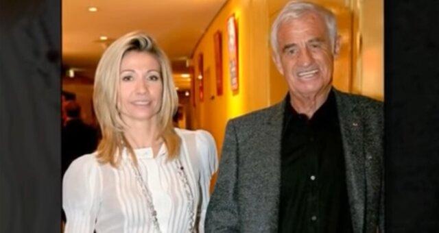 Nathalie Tardivel und Jean-Paul Belmondo. Quelle: Screenshot Youtube