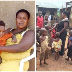 Mariam mit den Kindern. Quelle: Screenshot Youtube