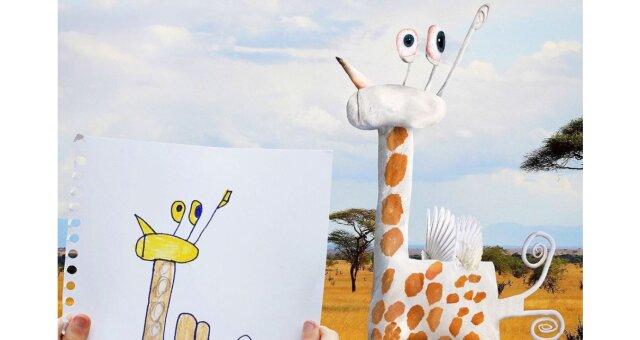Giraffe. Quelle: Screenshot Youtube
