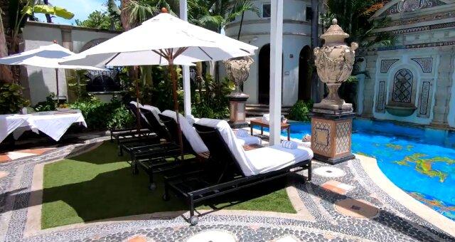 Haus von Gianni Versace. Quelle: Screenshot Youtube