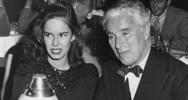 Oona O'Neill und Charlie Chaplin. Quelle: Screenshot Youtube