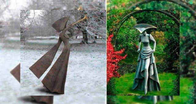 Skulpturen. Quelle: prikolno.cc