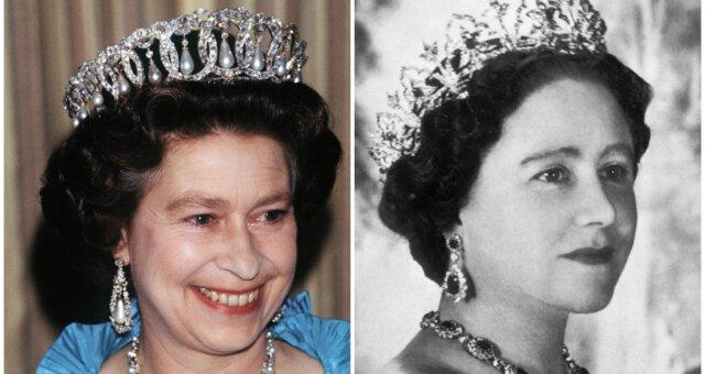 Tiaren der königlichen Familie. Quelle: Screenshot Youtube
