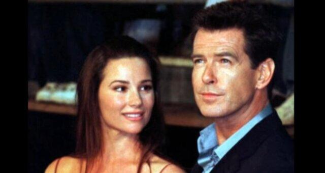 Pierce Brosnan und seine Frau Keely Shaye Smith. Quelle: Screenshot Youtube