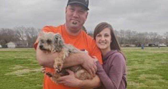 Hündin Maddie und ihre Besitzer. Quelle: Screenshot Youtube