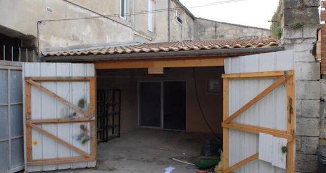 Alte Garage. Quelle: Screenshot Youtube