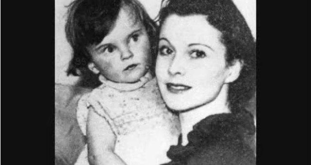 Vivien Leigh und ihre Tochter Suzanne. Quelle: Screenshot Youtube