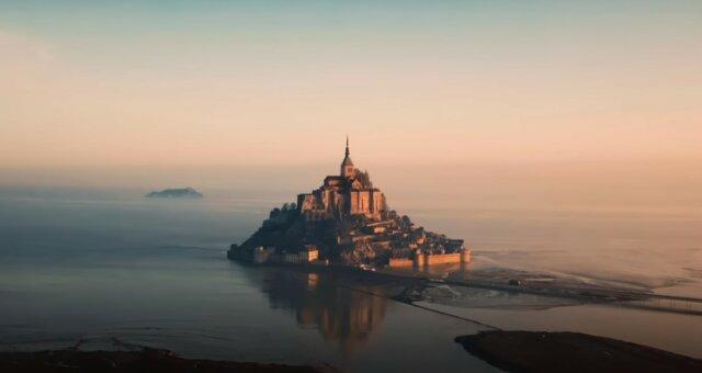 Mont Saint-Michel. Quelle: Screenshot YouTube