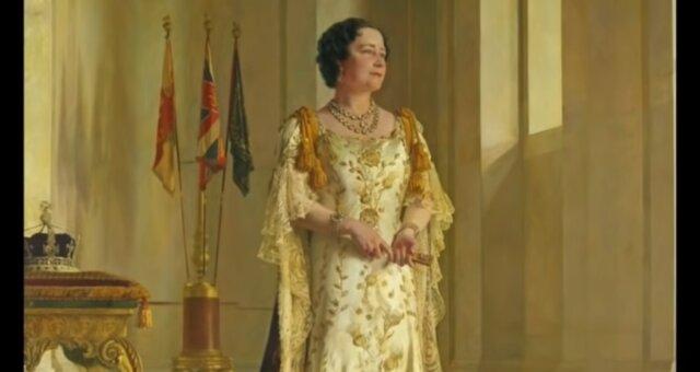 Lady Elizabeth Bowes-Lyon. Quelle: Screenshot Youtube