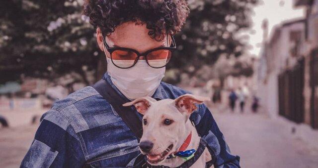 Anderson und sein Hund. Quelle: Screenshot Youtube