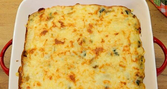 Zucchini Auflauf. Quelle: Screenshot Youtube