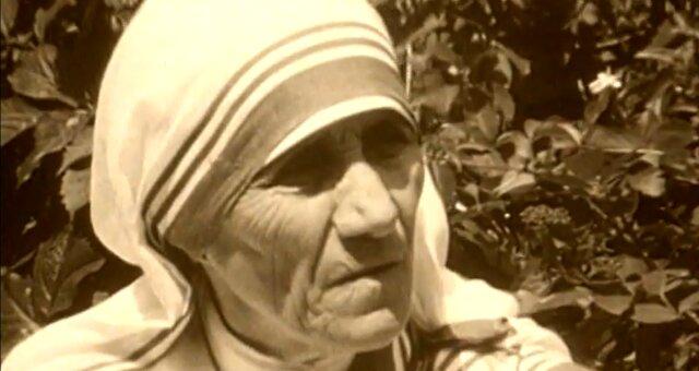 Mutter Teresa. Quelle: Screenshot Youtube