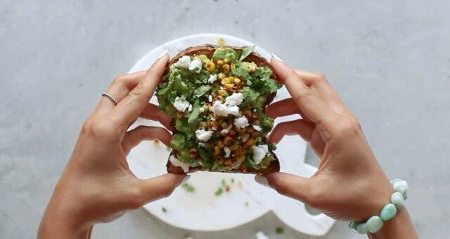 Gesunder und sättigender Snack. Quelle: Screenshot YouTube