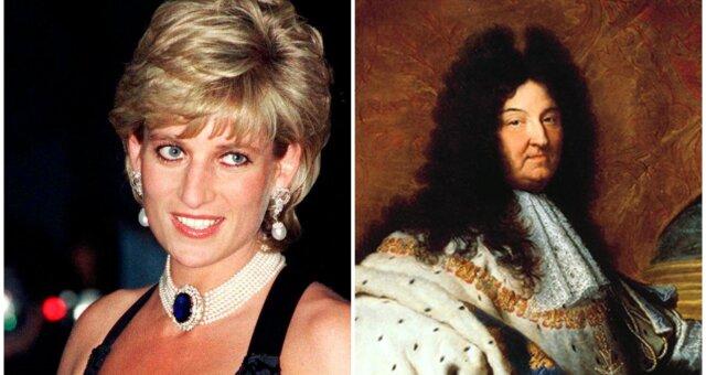 Prinzessin Diana und Ludwig XIV. Quelle: Screenshot Youtube