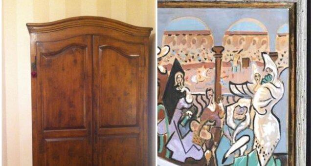Frau fand ein Gemälde im Kleiderschrank ihrer Großmutter. Quelle: Screenshot Youtube