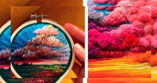 Stickerei. Quelle: boredpanda.com