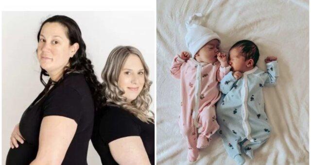 Natasha, Kara und Babys. Quelle: Screenshot Youtube