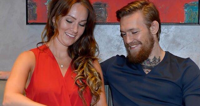 Conor McGregor und Dee Devlin. Quelle: Screenshot Youtube