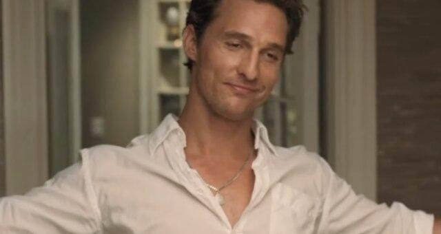 McConaughey. Quelle: Screenshot YouTube