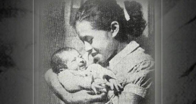 Lina Medina und ihr Sohn. Quelle: Screenshot Youtube