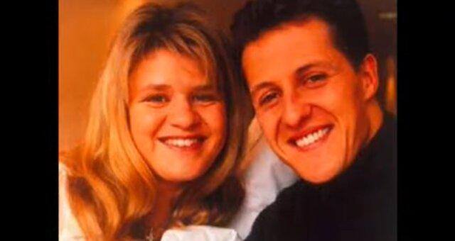 Michael und Corinna Schumacher. Quelle: Screenshot Youtube