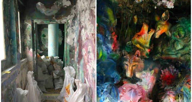 Frau verwandelte ihre Wohnung in ein Märchen. Quelle: Screenshot Youtube