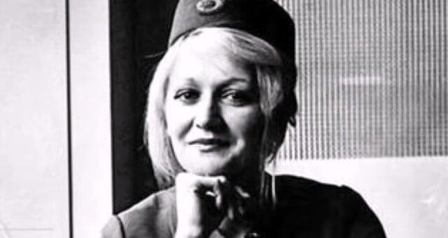 Vesna Vulović. Quelle: Screenshot Youtube