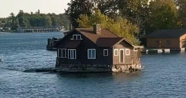 Die kleinste Insel der Welt. Quelle: Screenshot Youtube