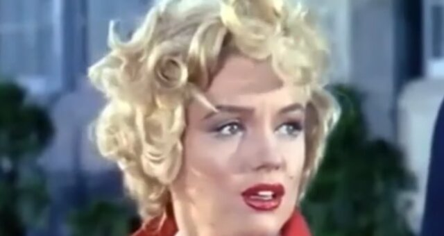 Marilyn Monroe. Quelle: Screenshot Youtube