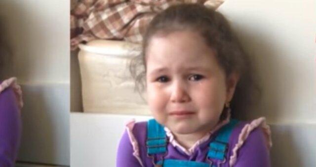 Mädchen weint. Quelle: Youtube Screenshot