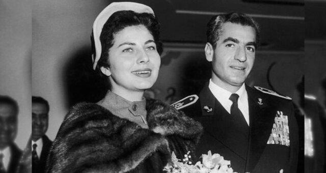 Mohammad Reza und Soraya Esfandiary Bakhtiari. Quelle: Pinterest.com