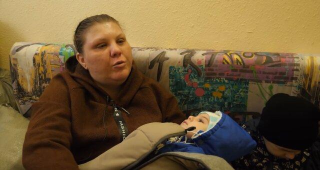 Kinderreiche Mutter wurde einmal obdachlos. Quelle: Screenshot Youtube