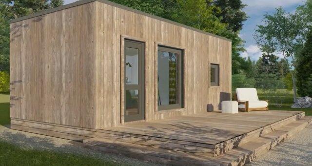 Multifunktionales minimalistisches Interieur. Quelle: Screenshot YouTube