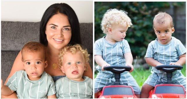 Ungewöhnliche Zwillinge Cole und Klay und ihre Mutter Jade. Quelle: Screenshot Youtube